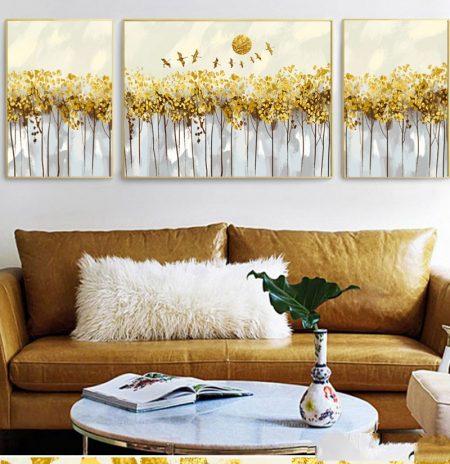 Bộ tranh canvas trang trí tường